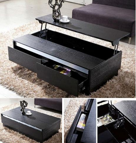 storage modern coffee table