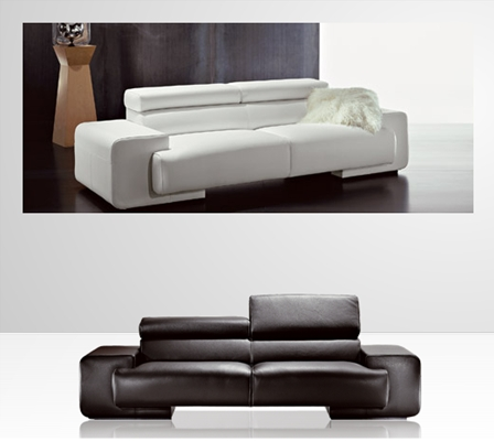 over sized modern sofa