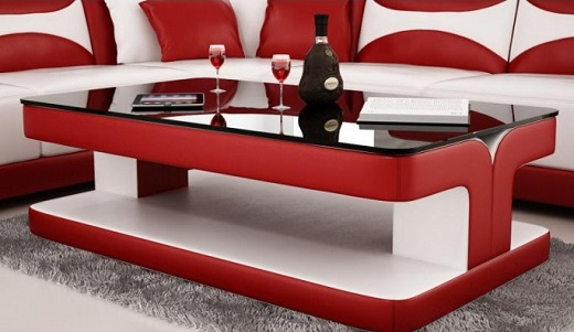Modern coffee tables in toronto ottawa mississauga - Canape cuir design luxe ...