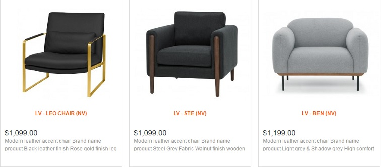 Fabulous Modern Accent Chairs In Toronto Ottawa And Mississauga La Bralicious Painted Fabric Chair Ideas Braliciousco