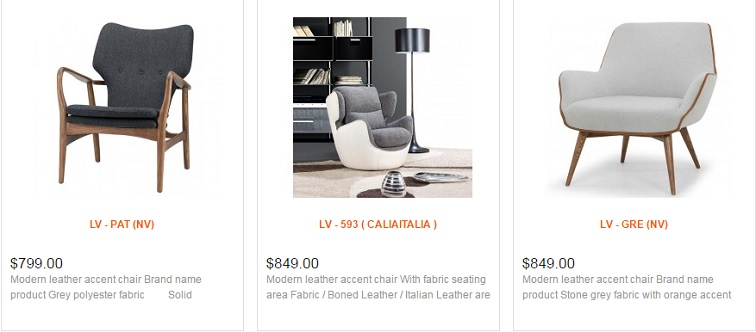 Remarkable Modern Accent Chairs In Toronto Ottawa And Mississauga La Bralicious Painted Fabric Chair Ideas Braliciousco