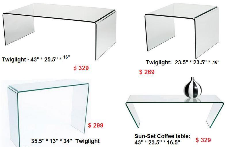 all glass coffee table in toronto. coffee tables toronto nesting
