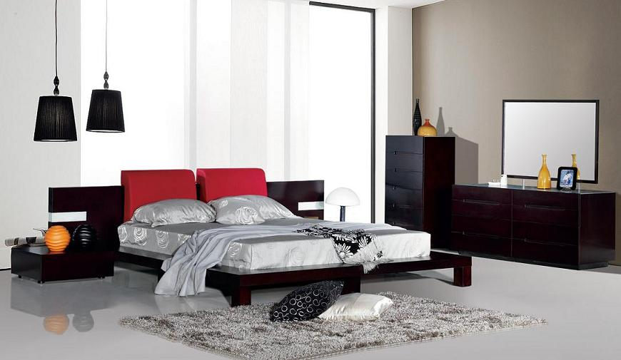 Modern bedroom furniture and platform beds in toronto for B furniture toronto