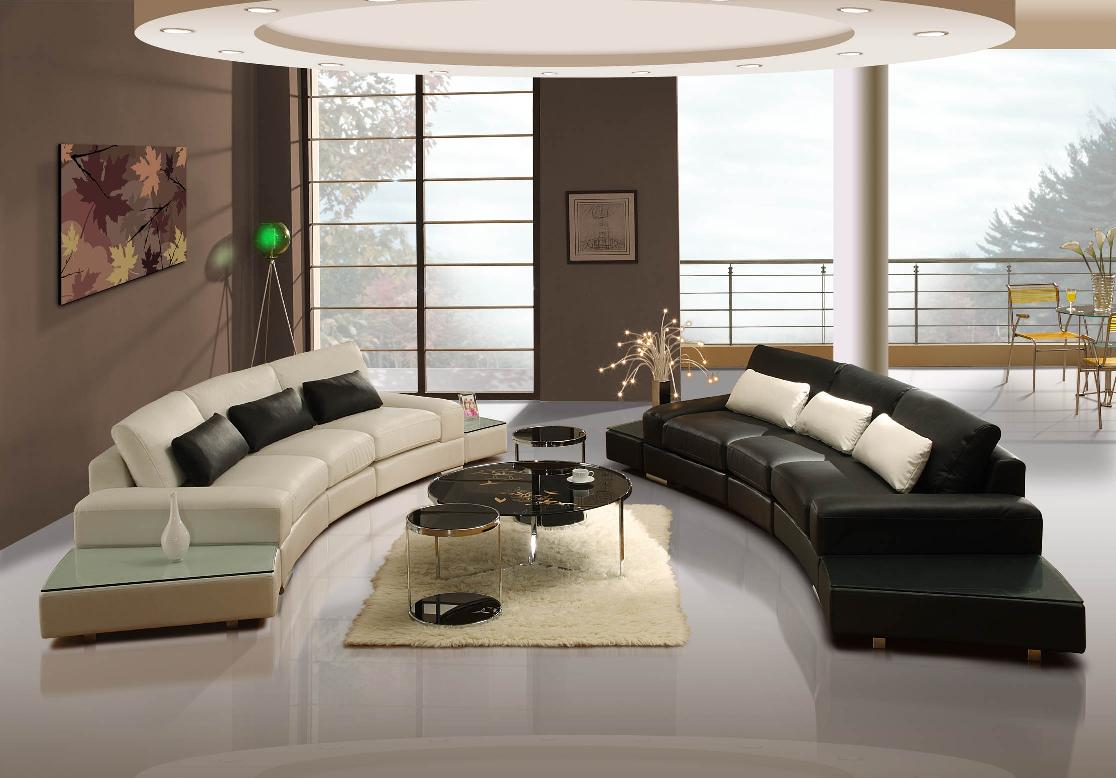 Elegant modern furniture design home designer for Modern living room decoration pictures