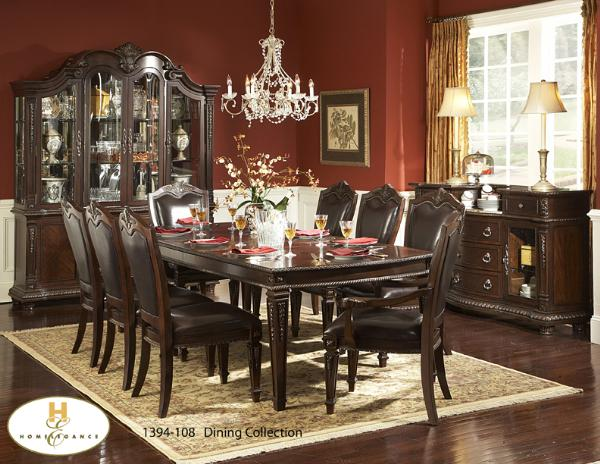 Formal dining room furniture in toronto mississauga and for 108 dining room table