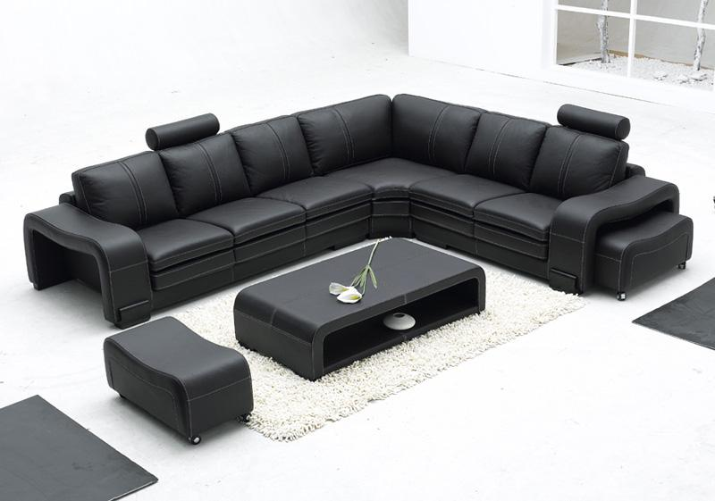 Modern Sectional Sofas And Corner Couches In Toronto Mississauga Best Black Modern Furniture