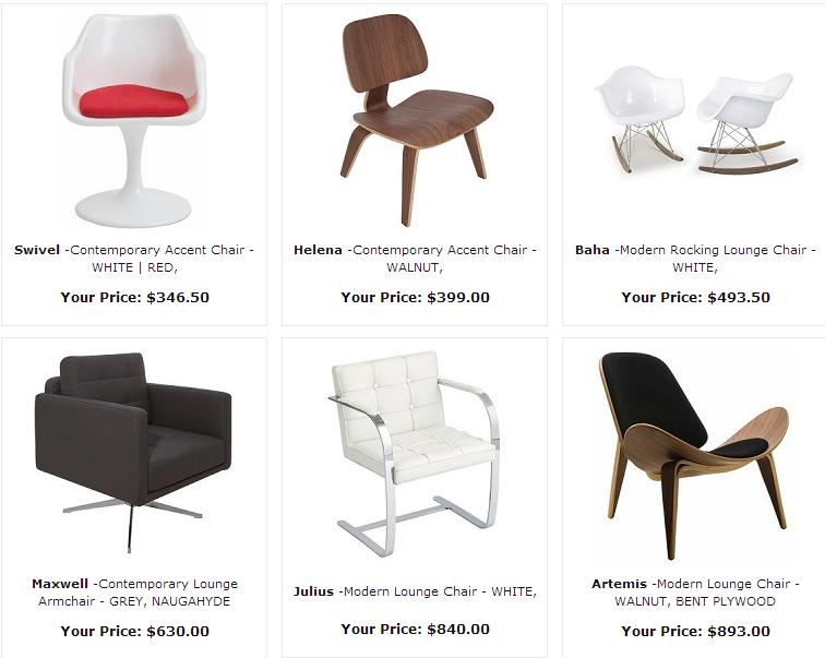 Modern Accent Chairs In Toronto Ottawa And Mississauga