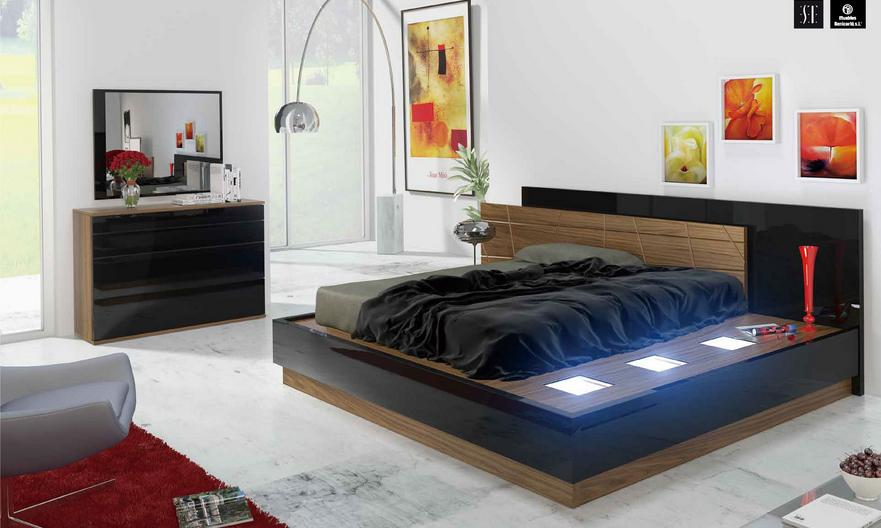 Modern Italian Bedroom Furniture in Toronto, Mississauga and Ottawa