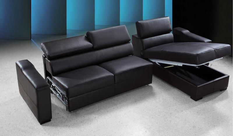 Gallery For Modern Sectional Sofa Bed