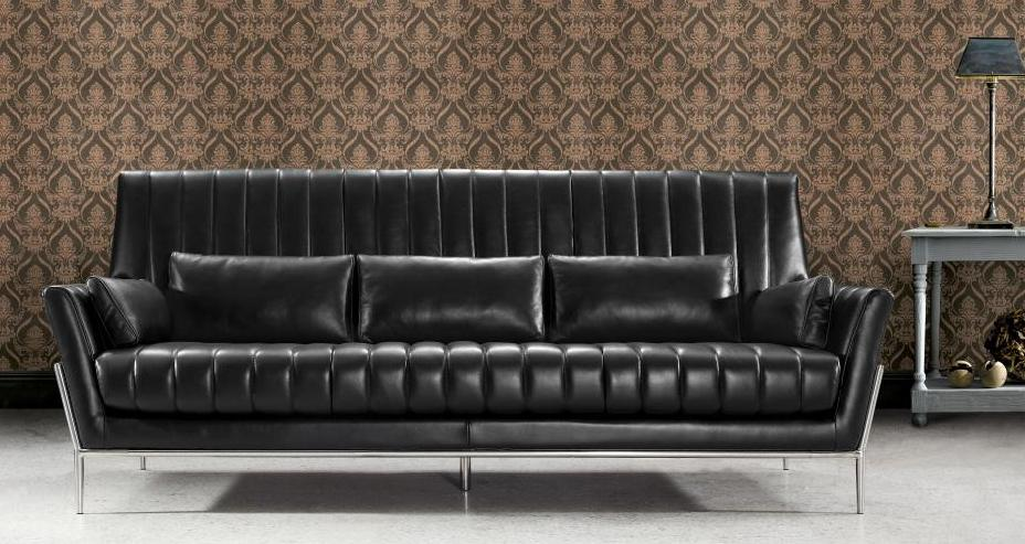 We Have Chocolate Color In Stock Promotional Item In Real Leather Sofa Loves